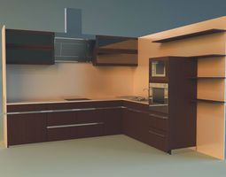 3d model kitchen 8