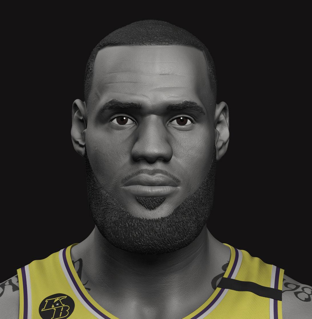 LeBron James Bust