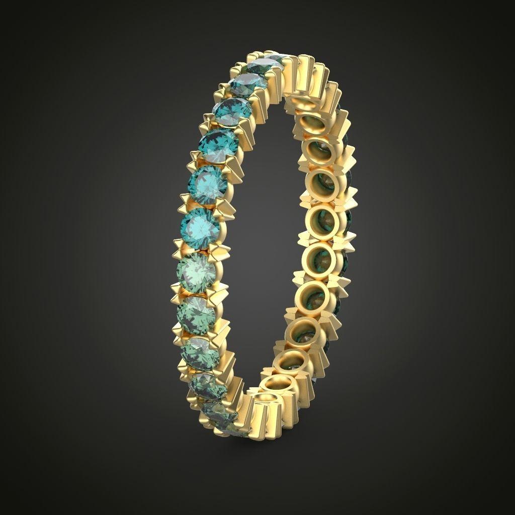 Eternity ring model ring sizes