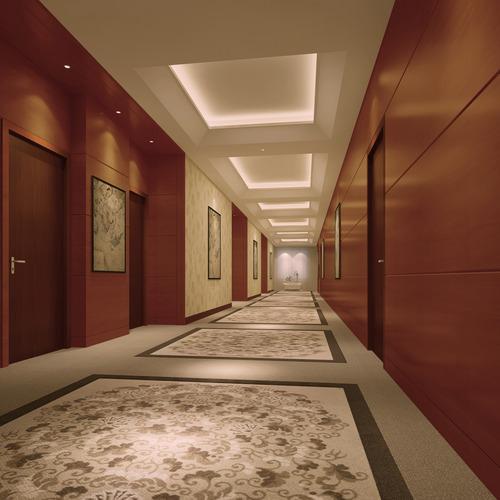 corridor 3d model max 1