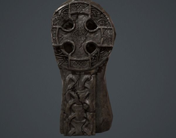 CeltiC Cross 3D asset