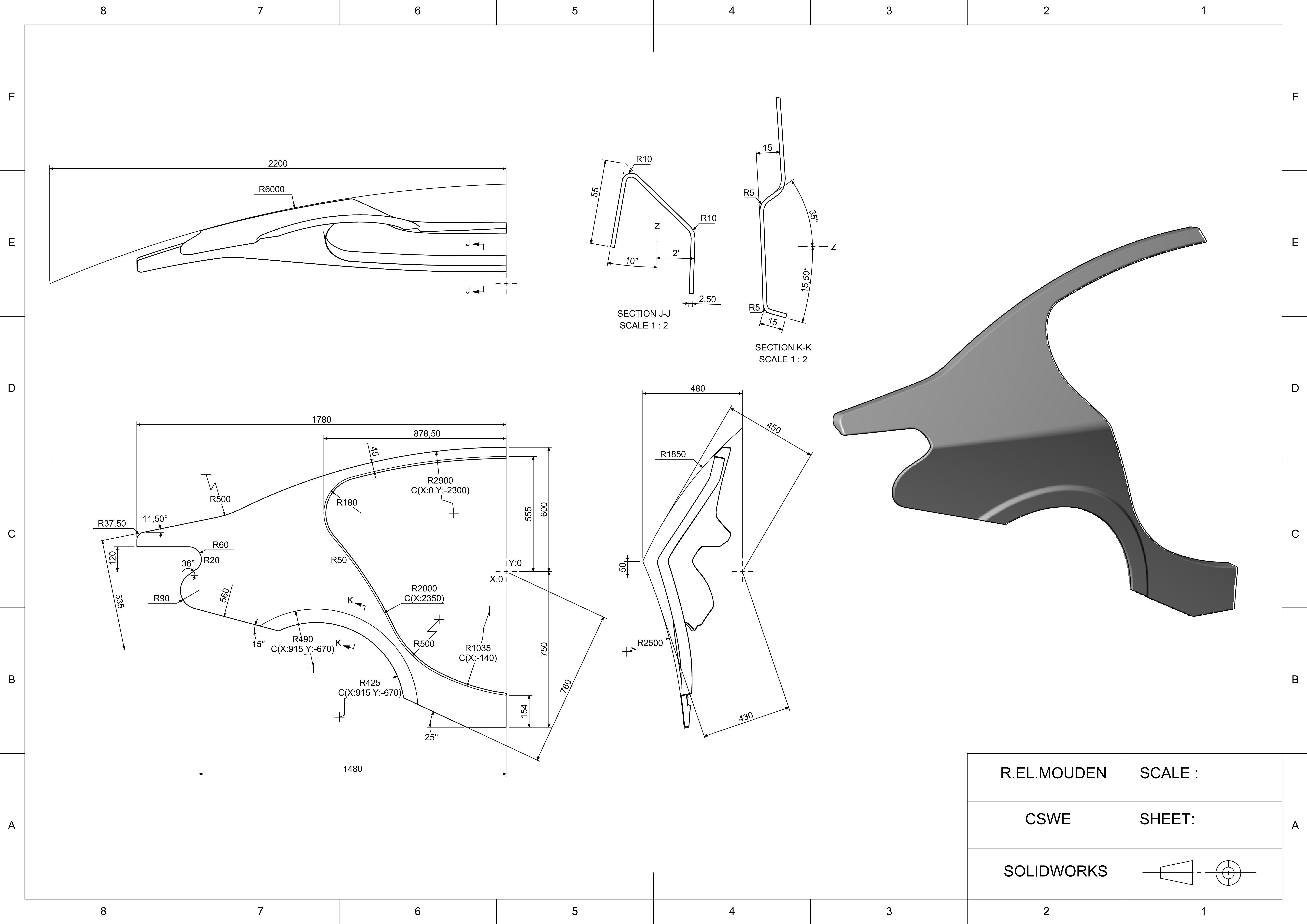 3D print model Car rear fender   CGTraderCGTrader