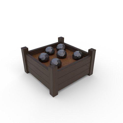 Cannon balls  - PBR
