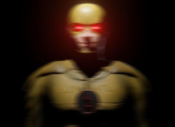 CW Reverse Flash 3D Model