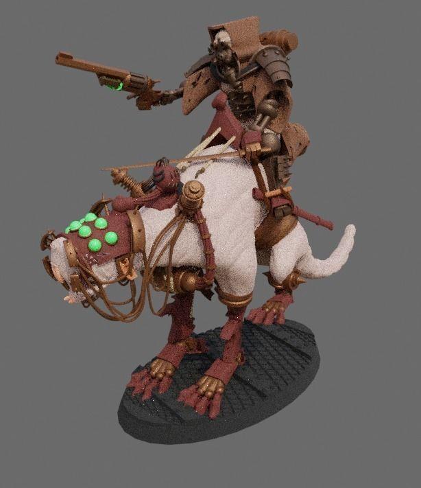 Dark Mech Rat Riders