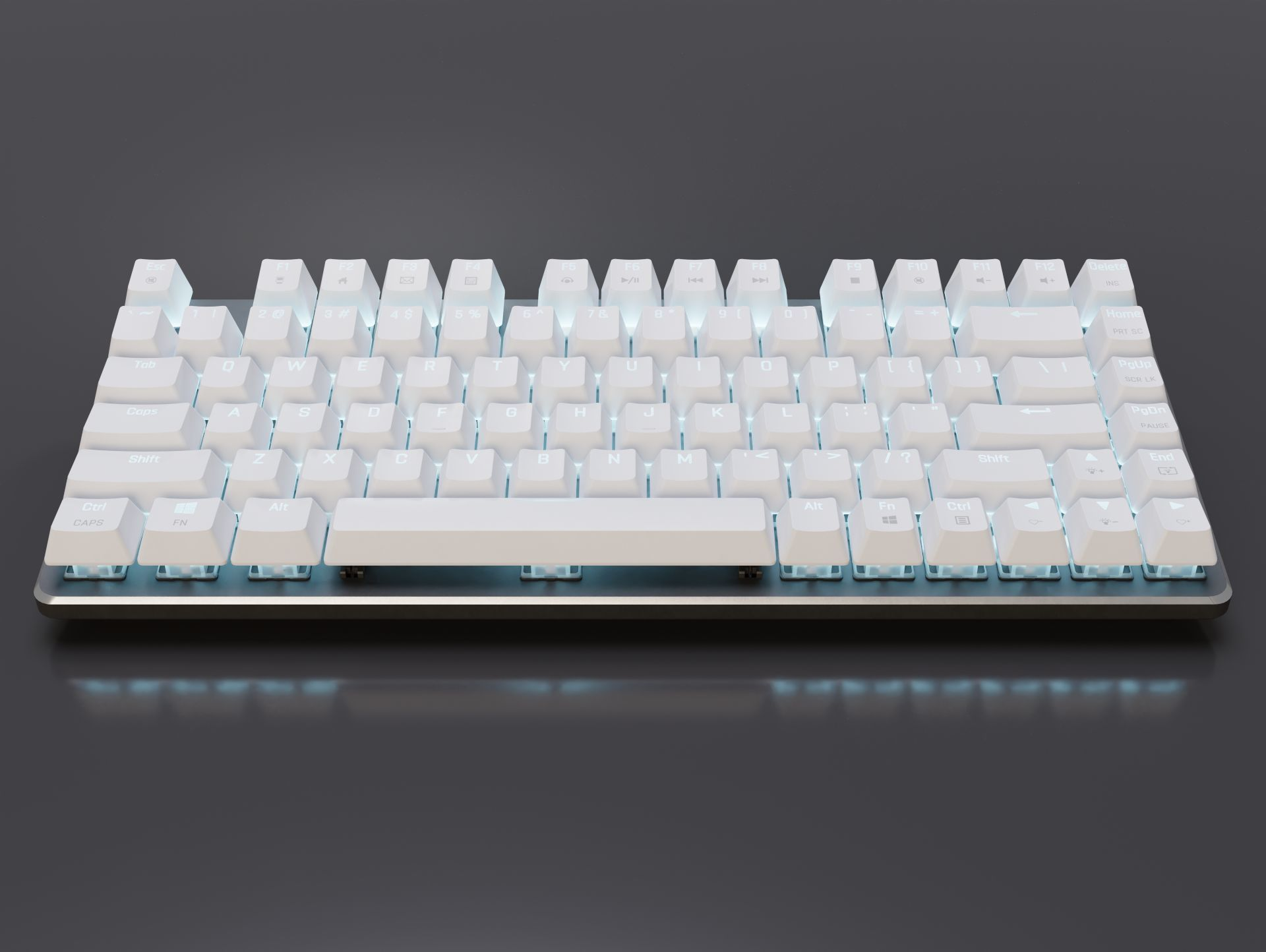 Mechanical Keyboard 82-Key LED