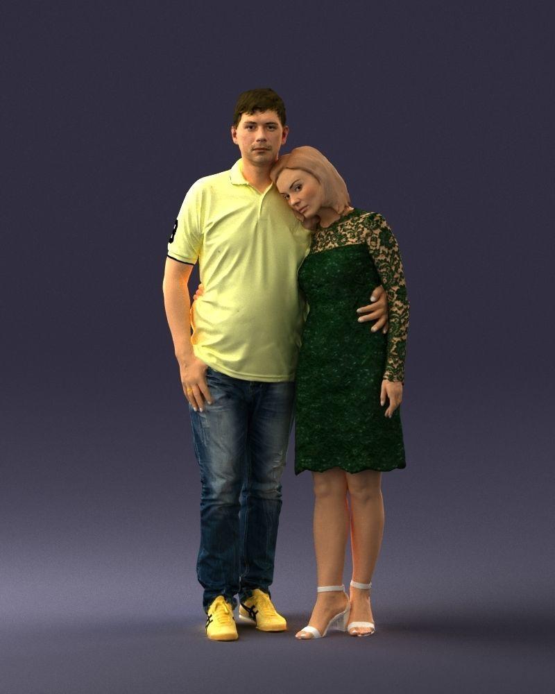 Couple 0907-1 3D Print Ready
