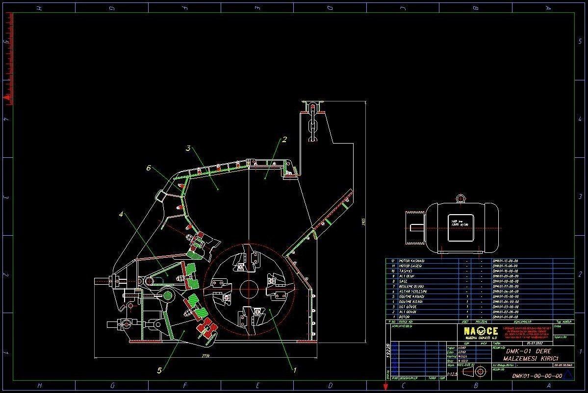 DMK-01  Impact crusher