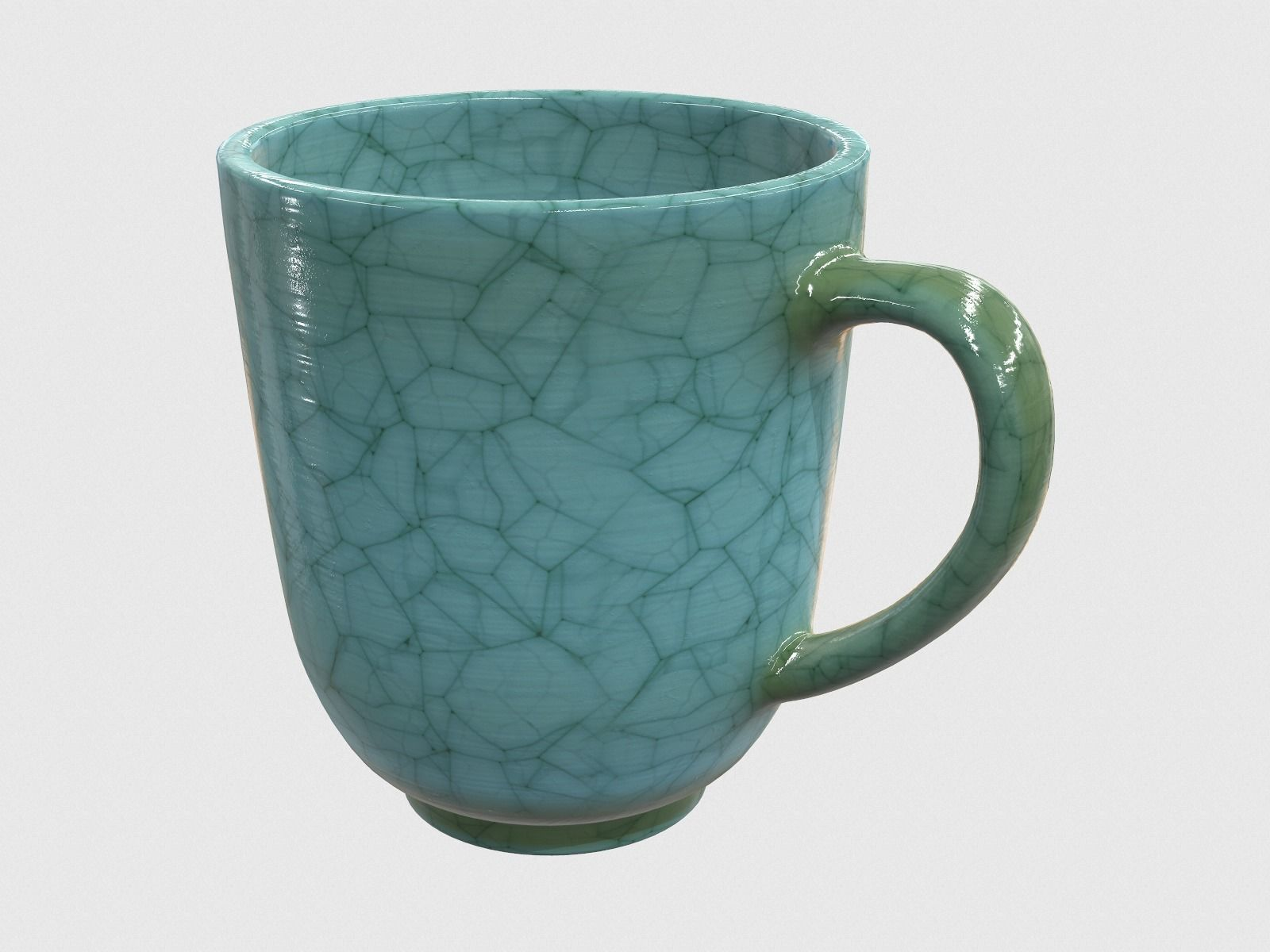 Antique Ceramic Mug