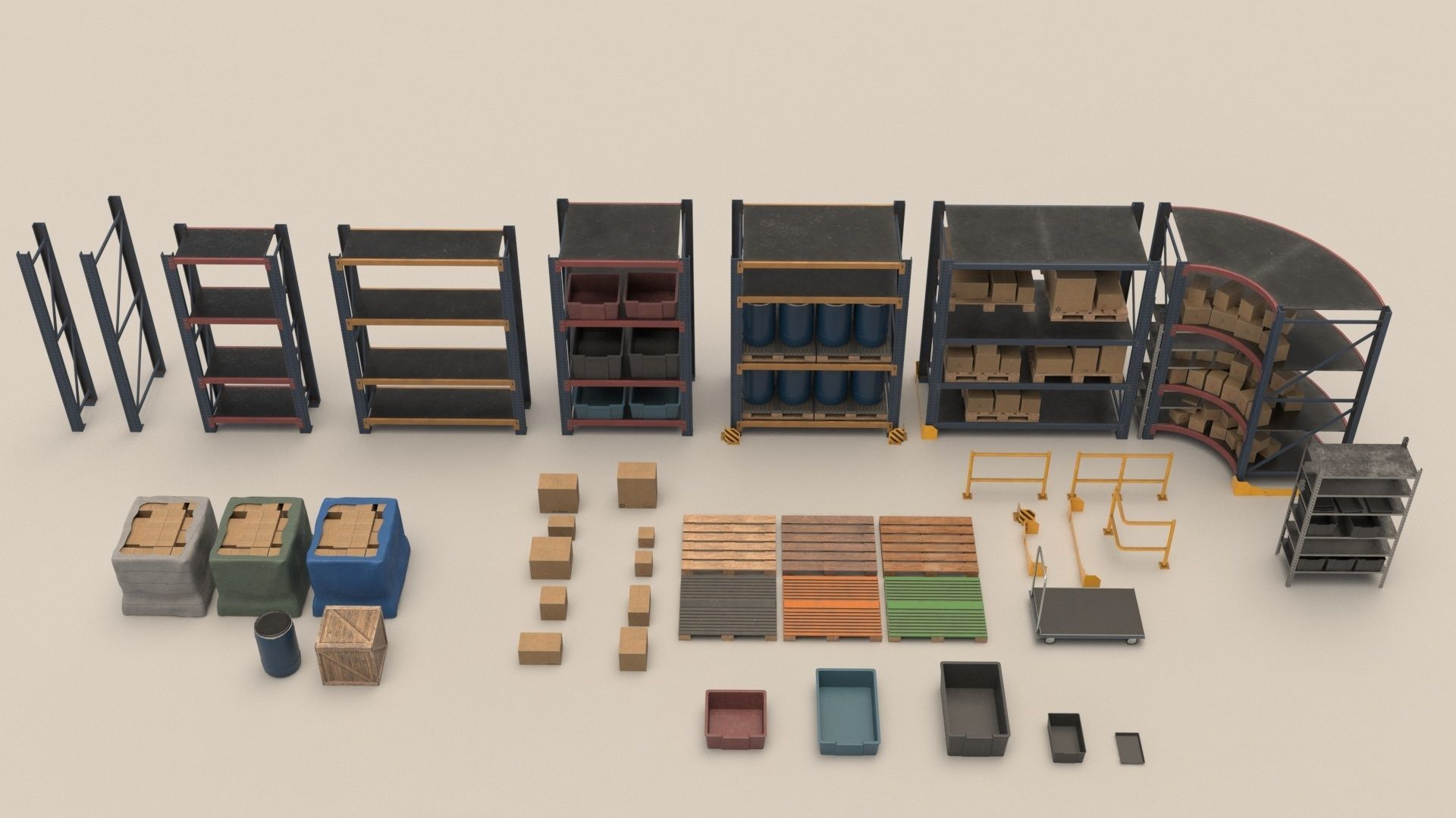 Game Ready Storage Assets