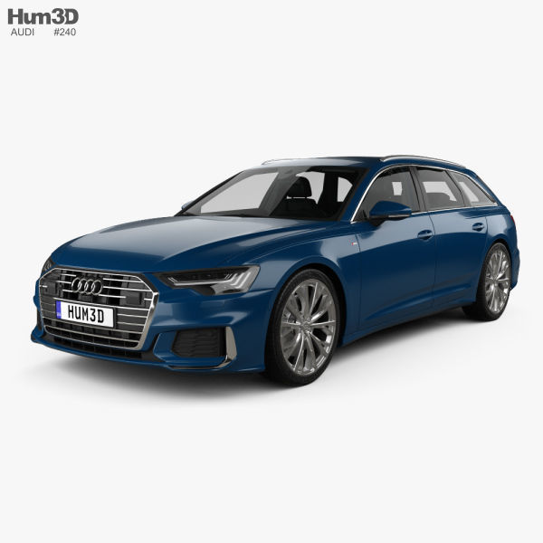 Audi A6 S-Line avant with HQ interior 2018