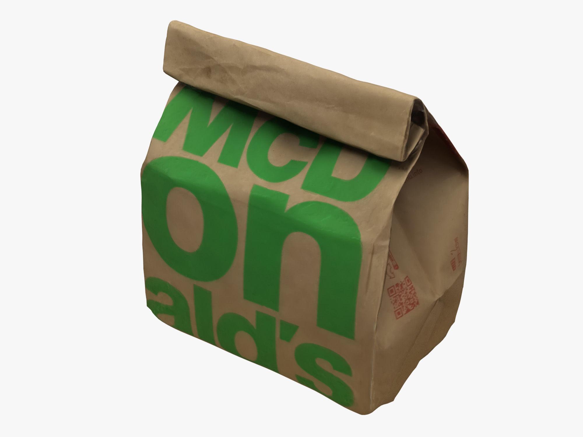 McDonalds Paper Bag