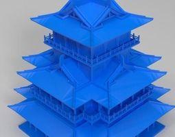 3D printable model Ancient construction