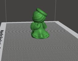 Angel 3d print model