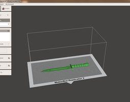 Bayonet 3D print model