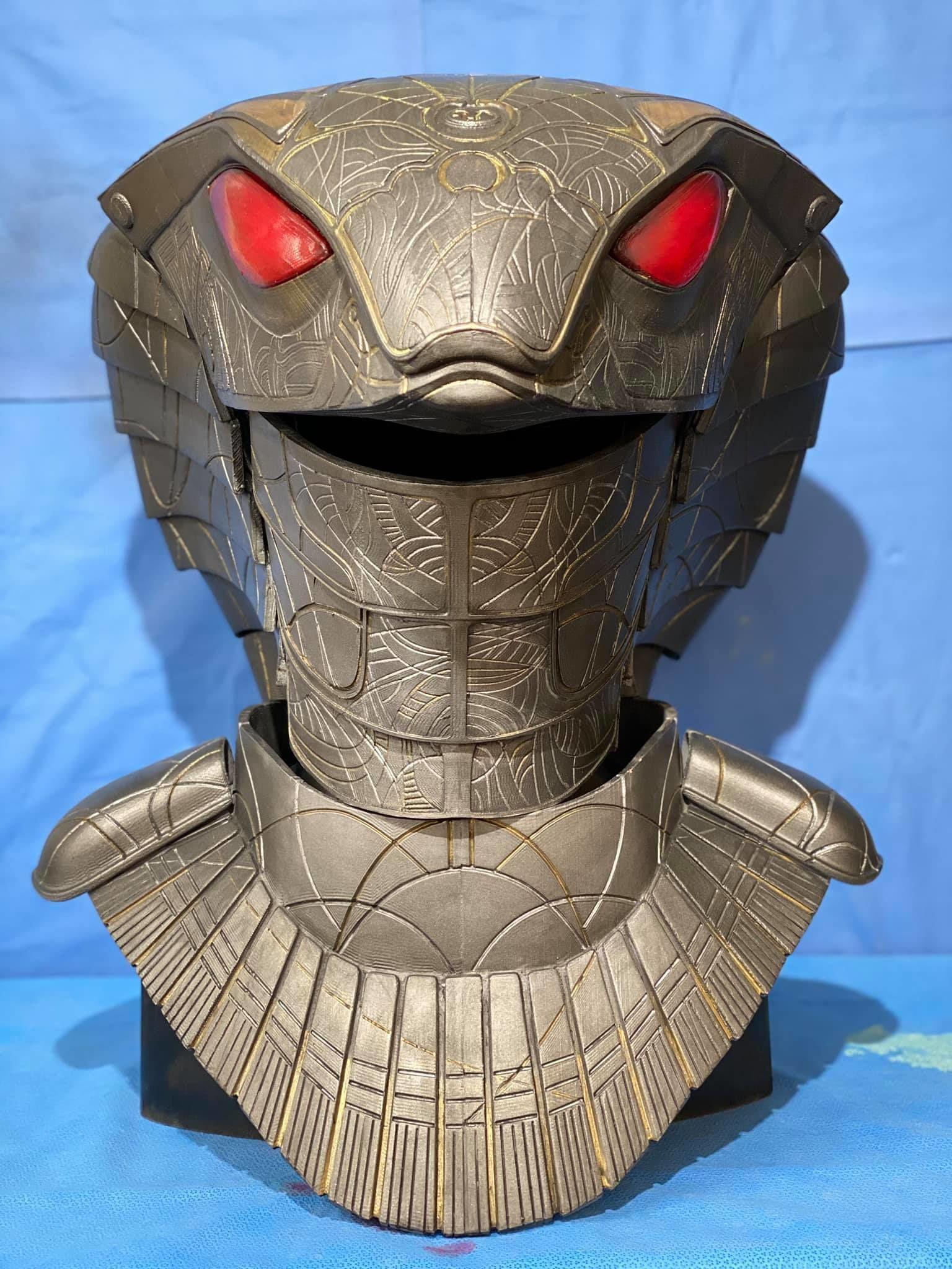 Stargate Serpent Guard Cosplay 3D print model