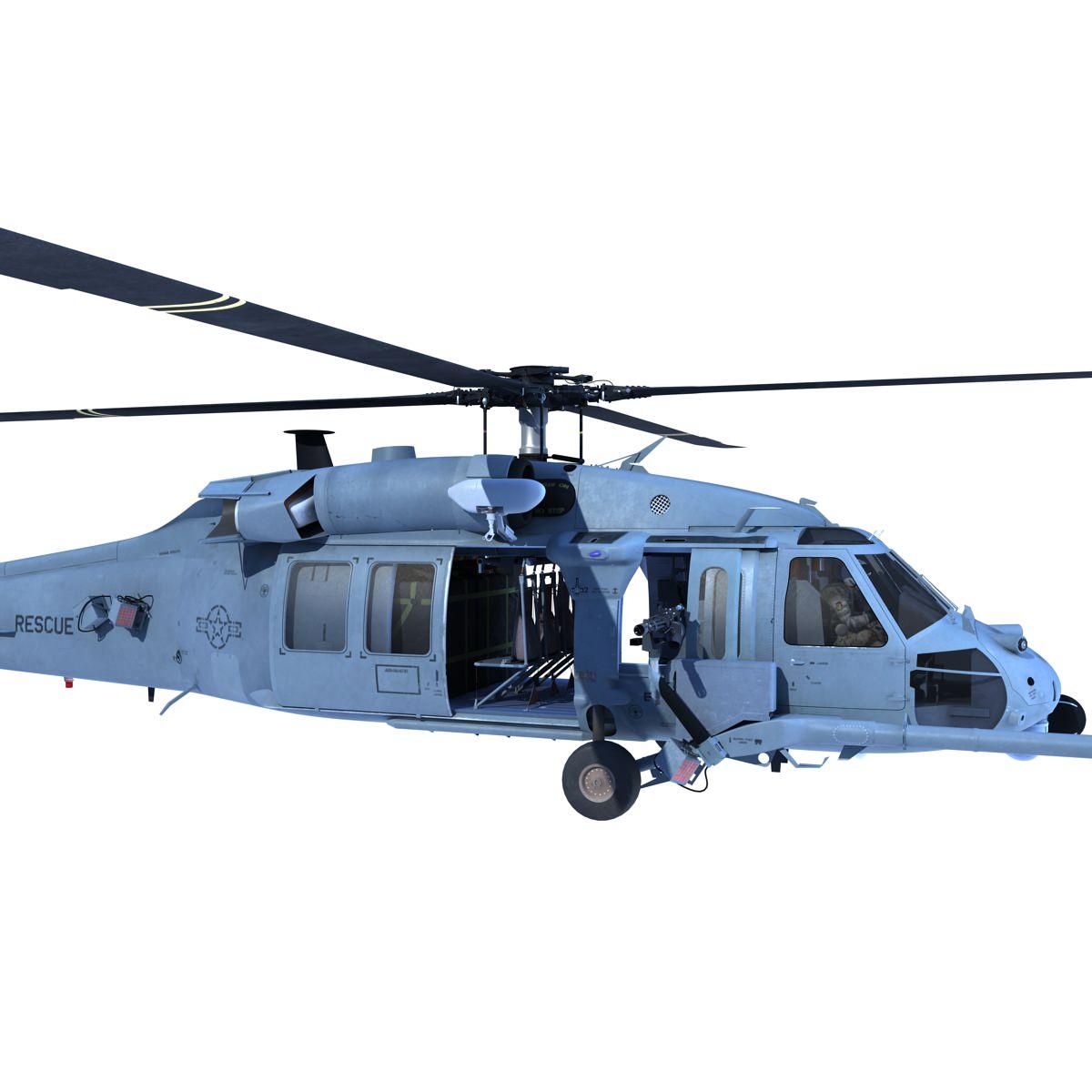 MH 60 3D Model MAX OBJ FBX C4D MA MB   CGTrader.com
