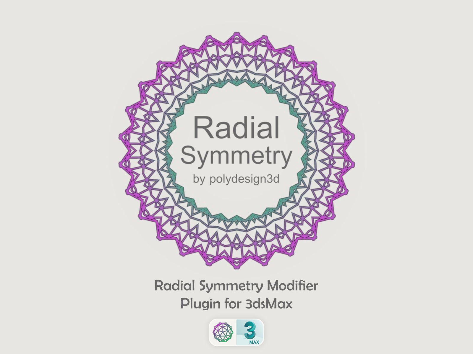 Radial Symmetry by PolyDesign