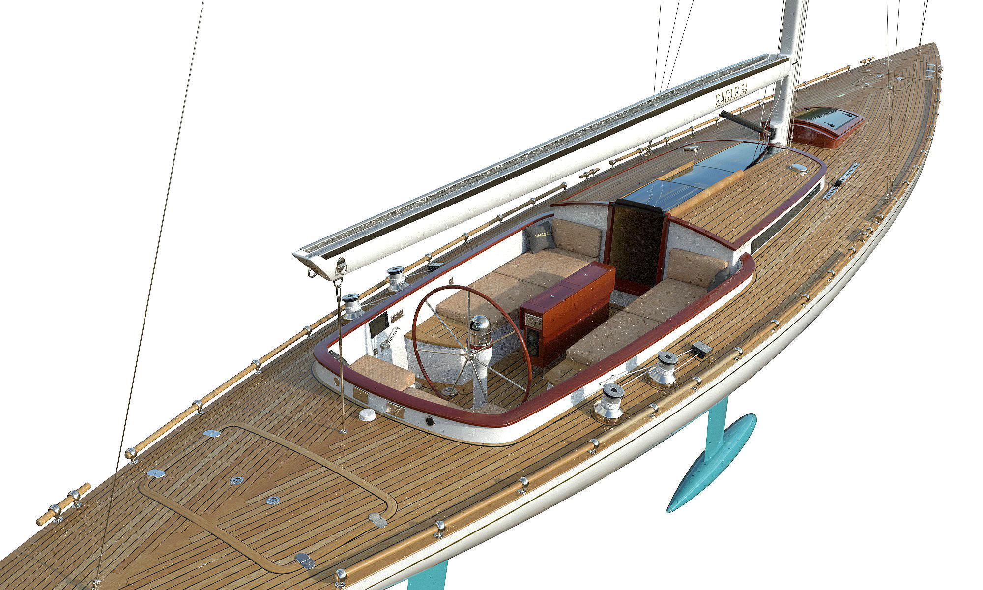 Leonardo Yacht Eagle 54