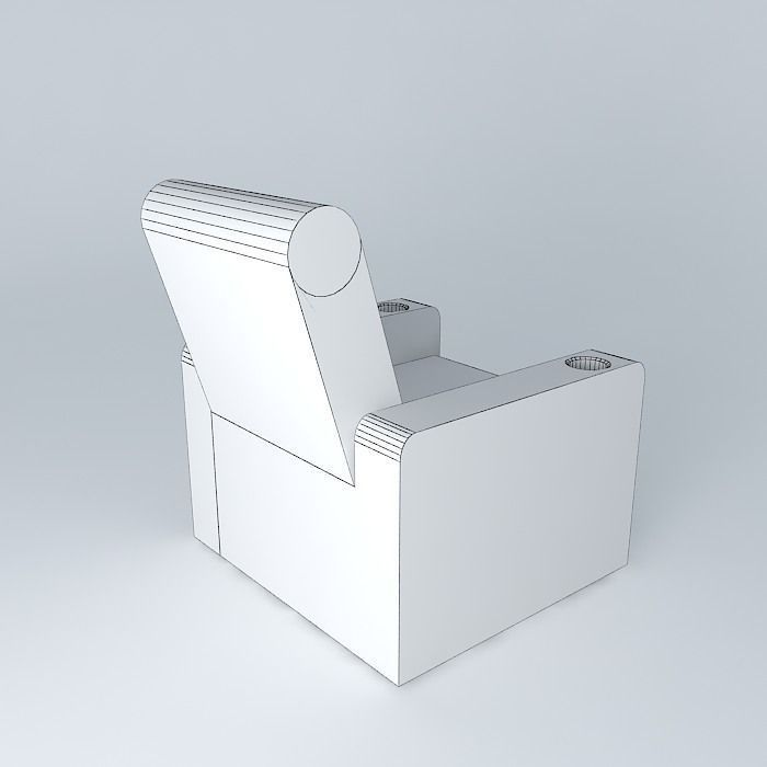 Theater chair 3d model free download