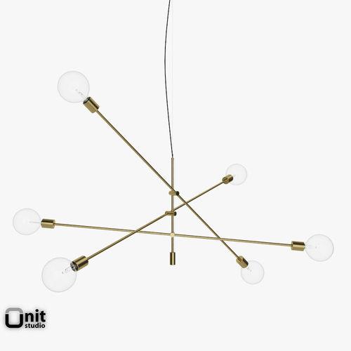 Mobile Chandelier Grand Pendant Light By W 3d Model