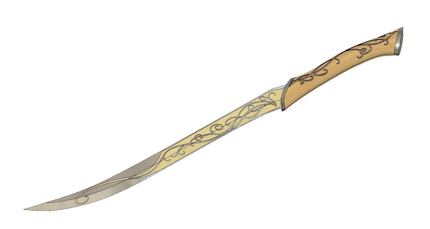 Legolas Dagger - Lord Of The Rings
