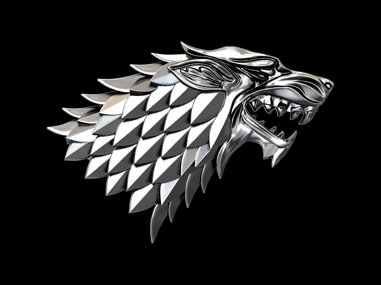 Game of Thrones Stark house 3d print ready GoT