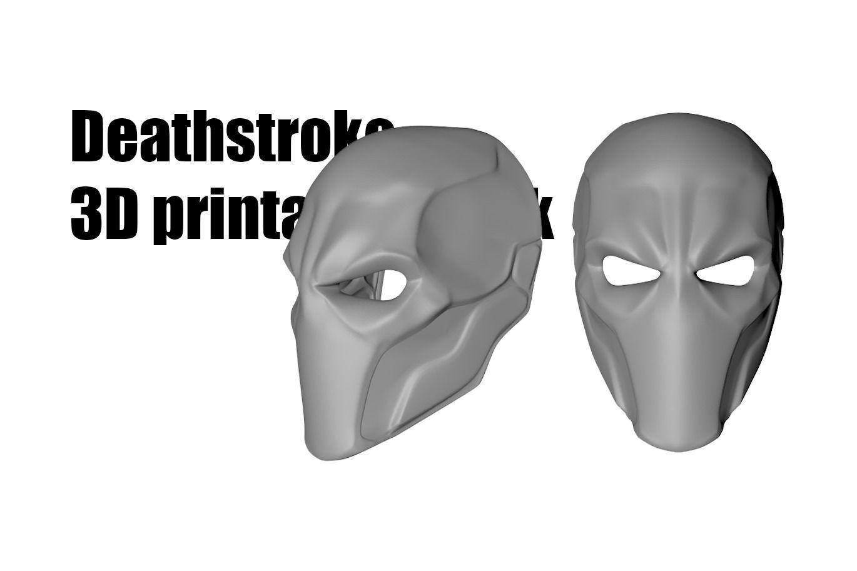 Deathstroke mask helmet