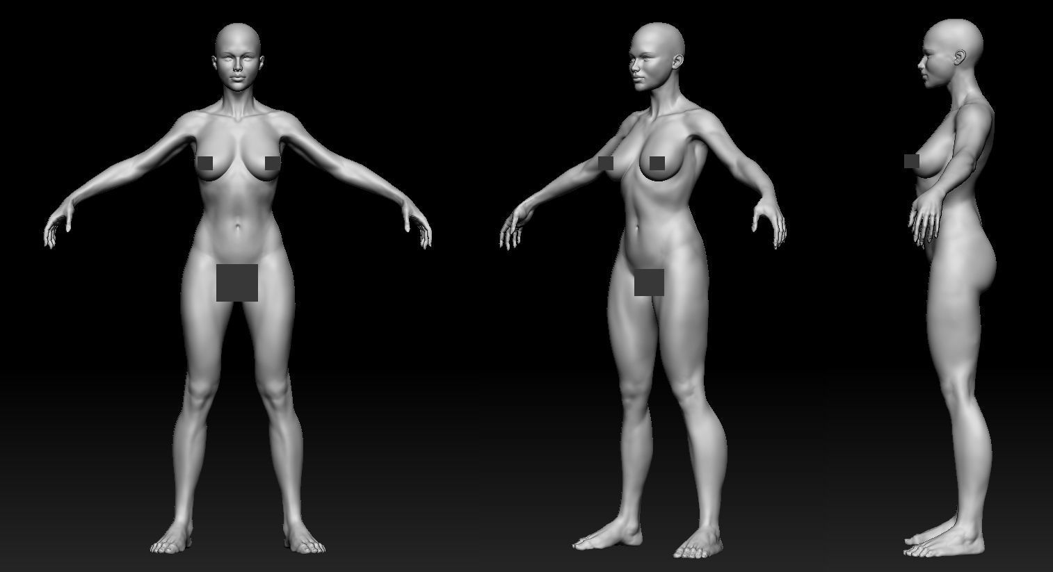 female body 01