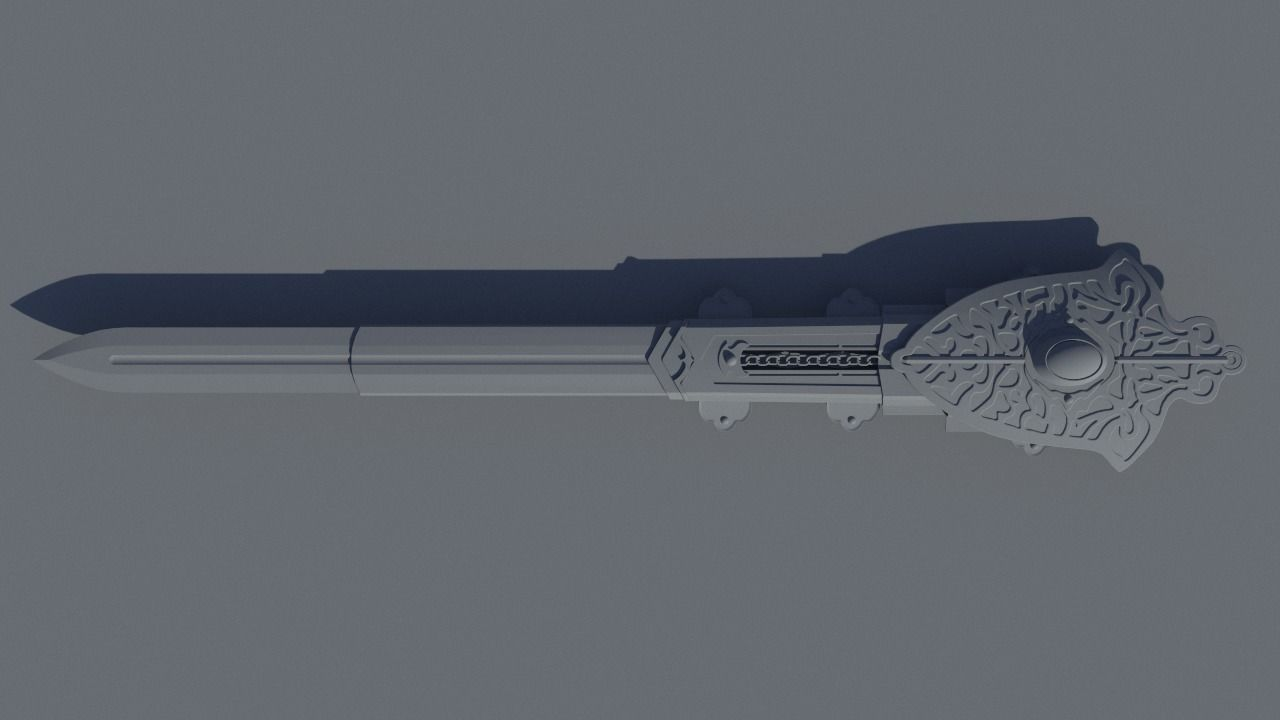 3d Printable Model Hidden Blade Assassins Creed Valhalla