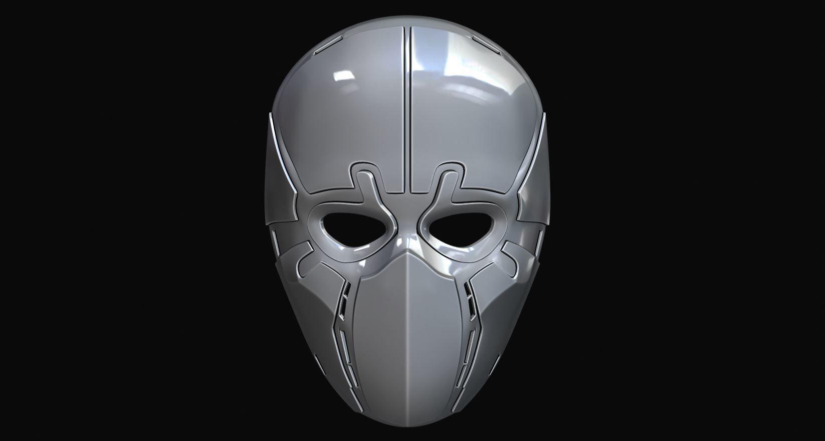 Gas mask helmet 3d model   CGTrader
