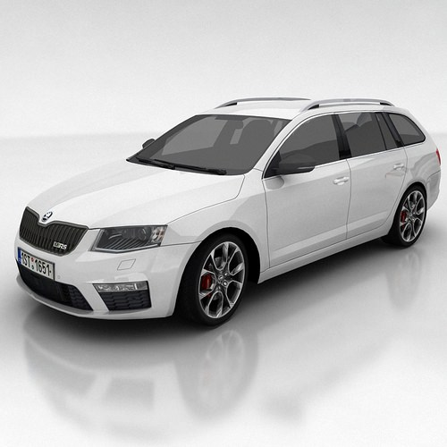 Skoda Octavia 3 RS Kombi3D model