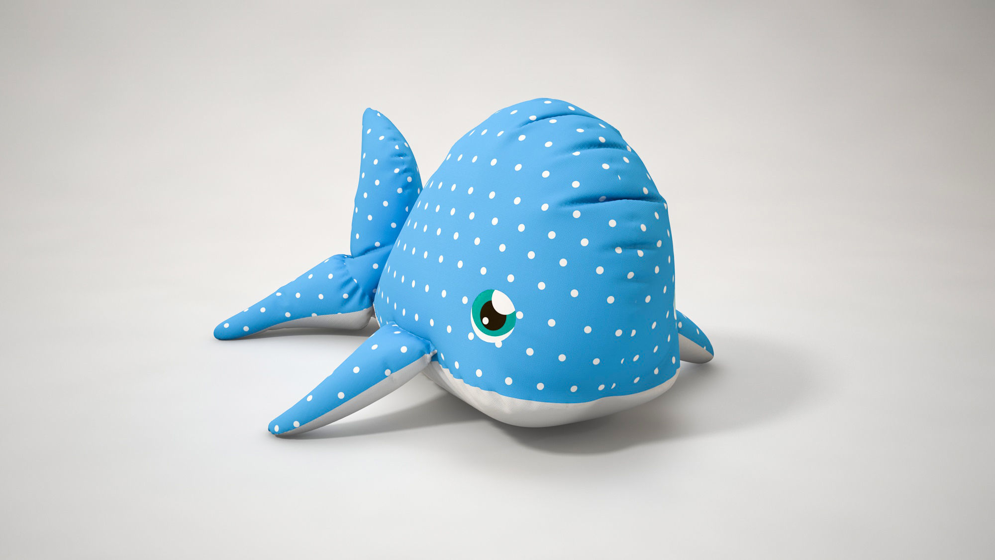 Stuffed Toy Dolphin