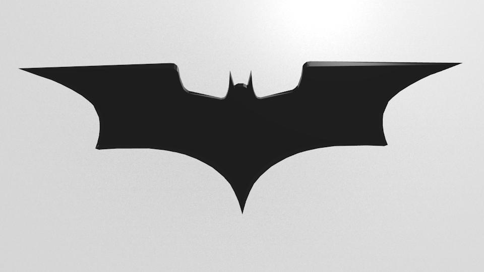 Batarang 3d Model Blend Cgtrader Com