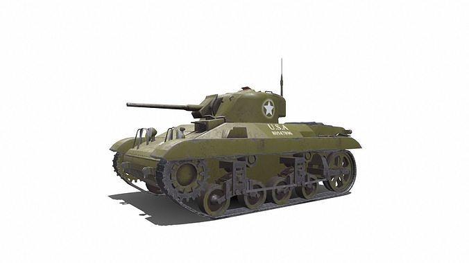 M22 Locust American Light Tank