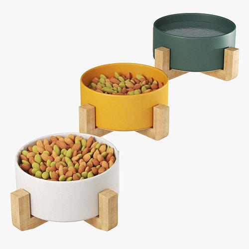 Pet elevated feeder