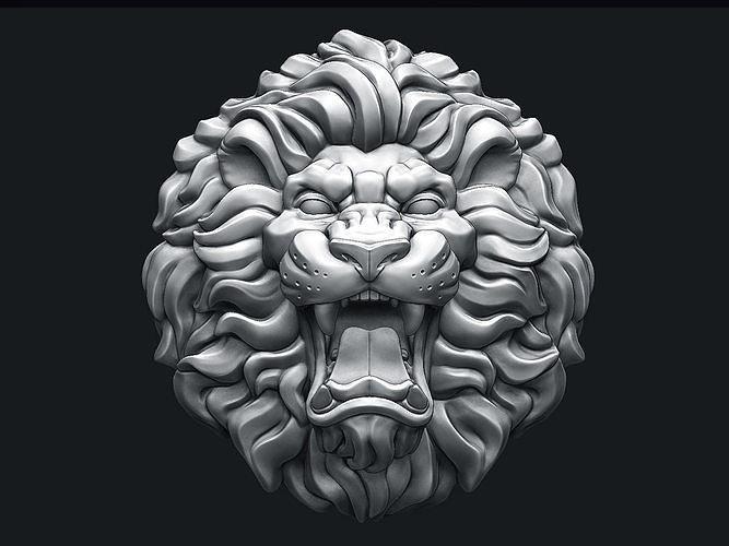 Roaring Lion Head V2