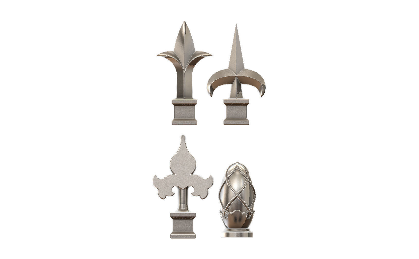 Cast iron spears designs