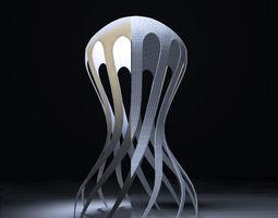 Cirrata Corian Lamp 3D Model