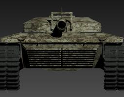 Tank 3D Model 3D Model