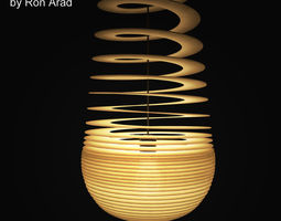 Ge Off Sphere Pendant Light 3D model