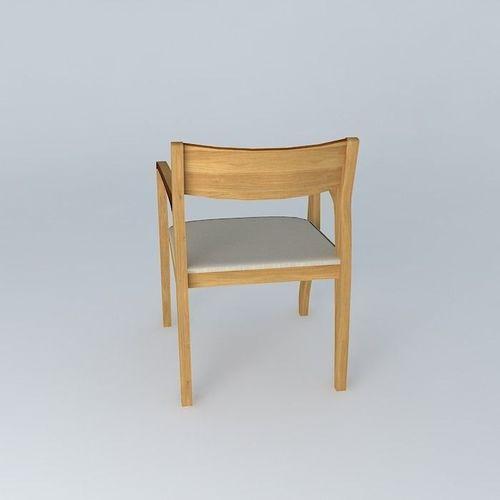 Daniela Chair: 3D Model Daniela Chair