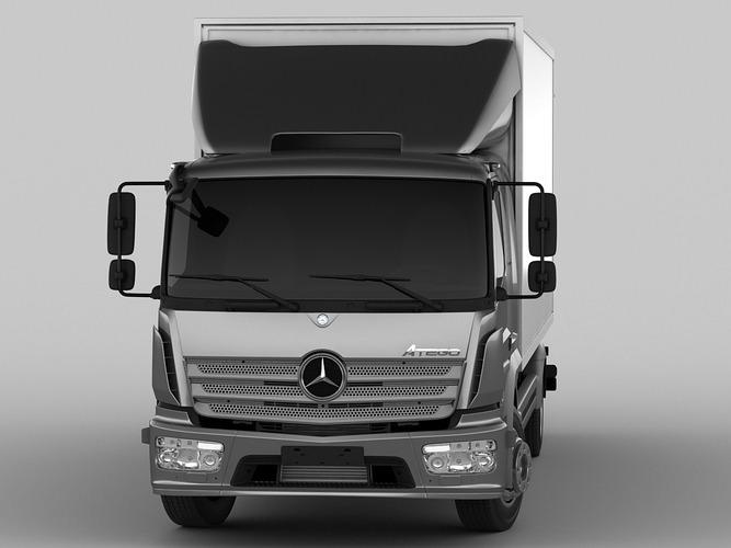 Mercedes Atego 2014 Long