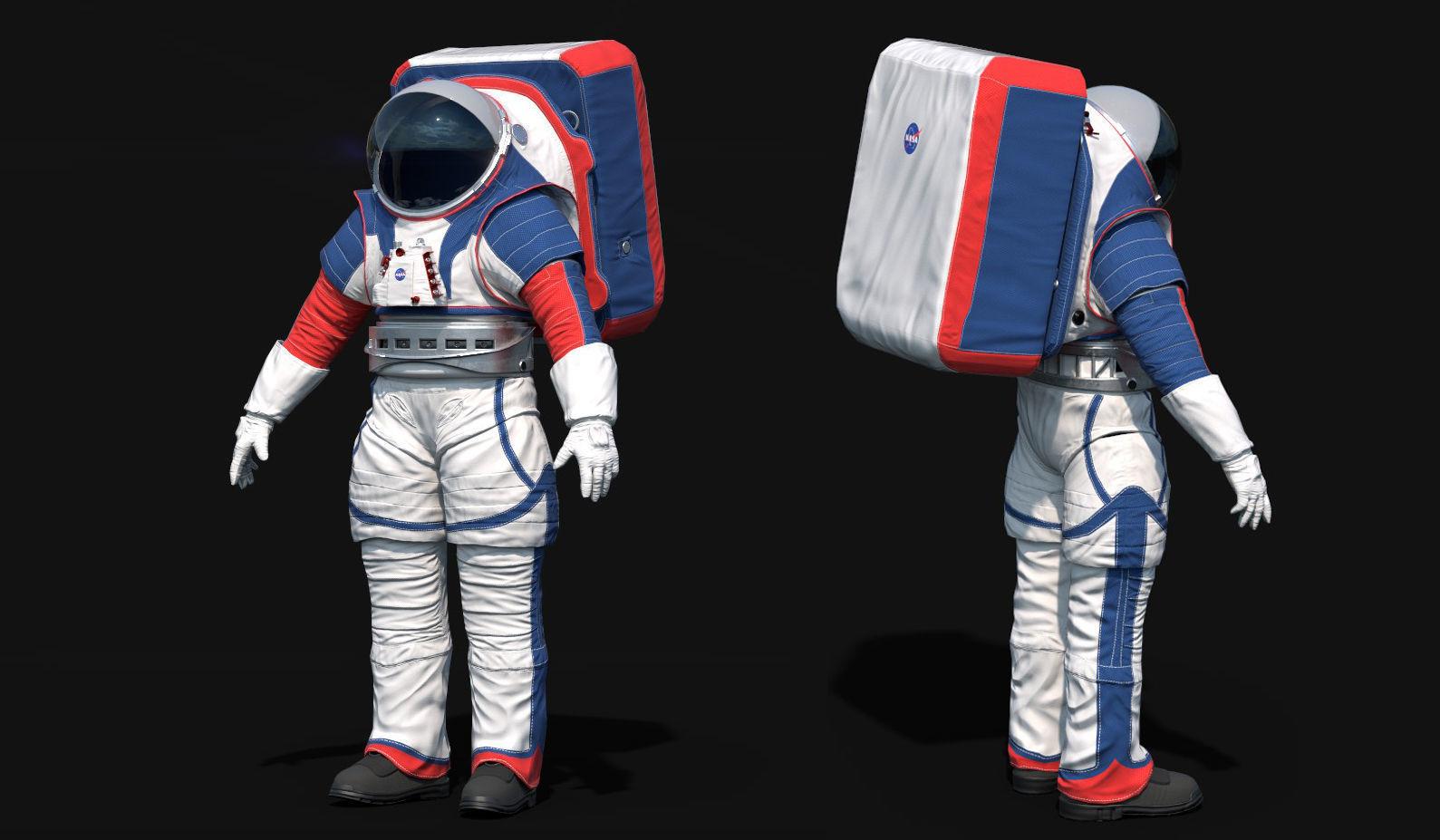 Astronaut Suit NASA Artemis Programme