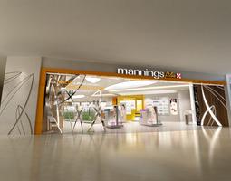 3D model Store architecture