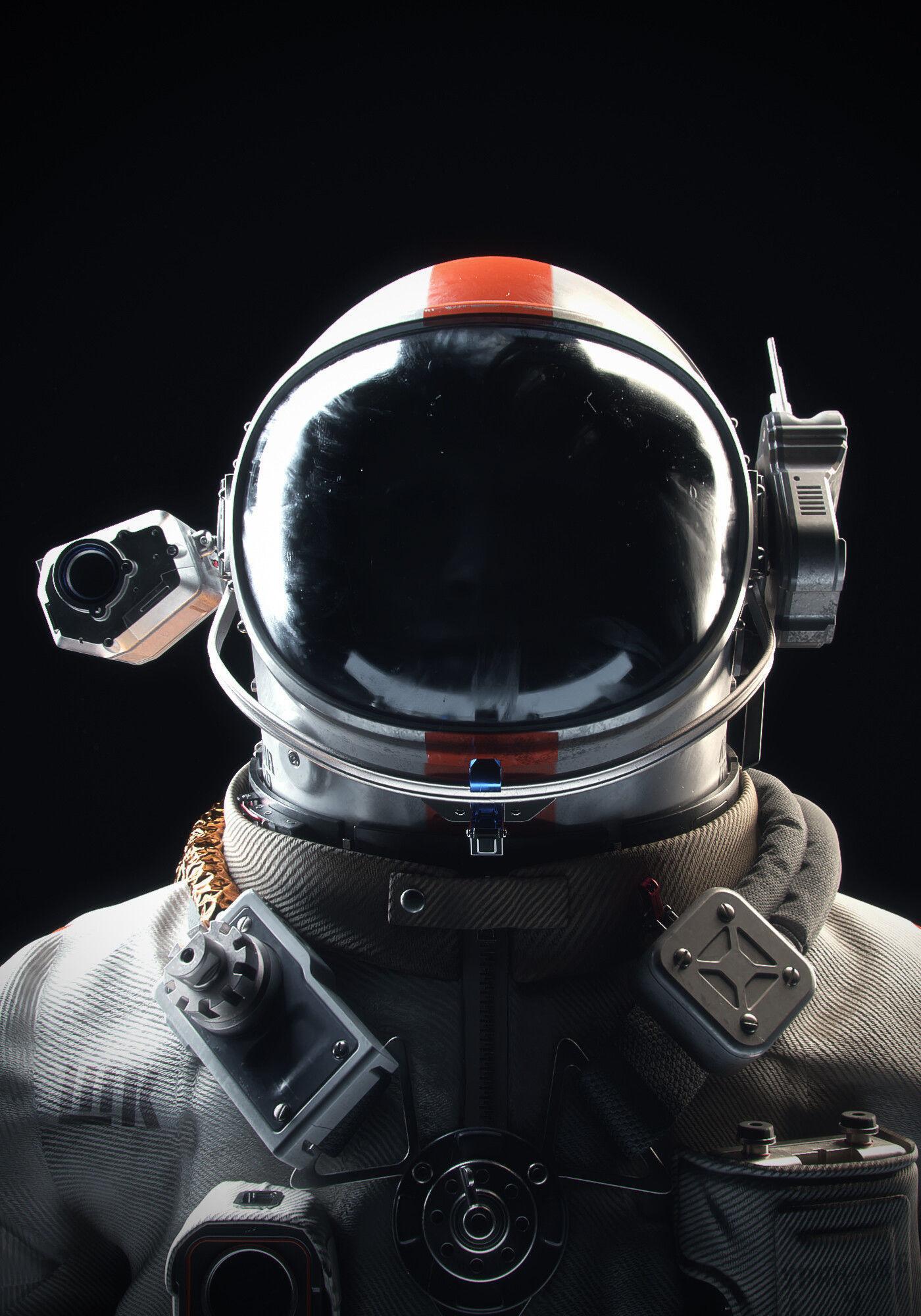 Cosmonaut Orel Scene files