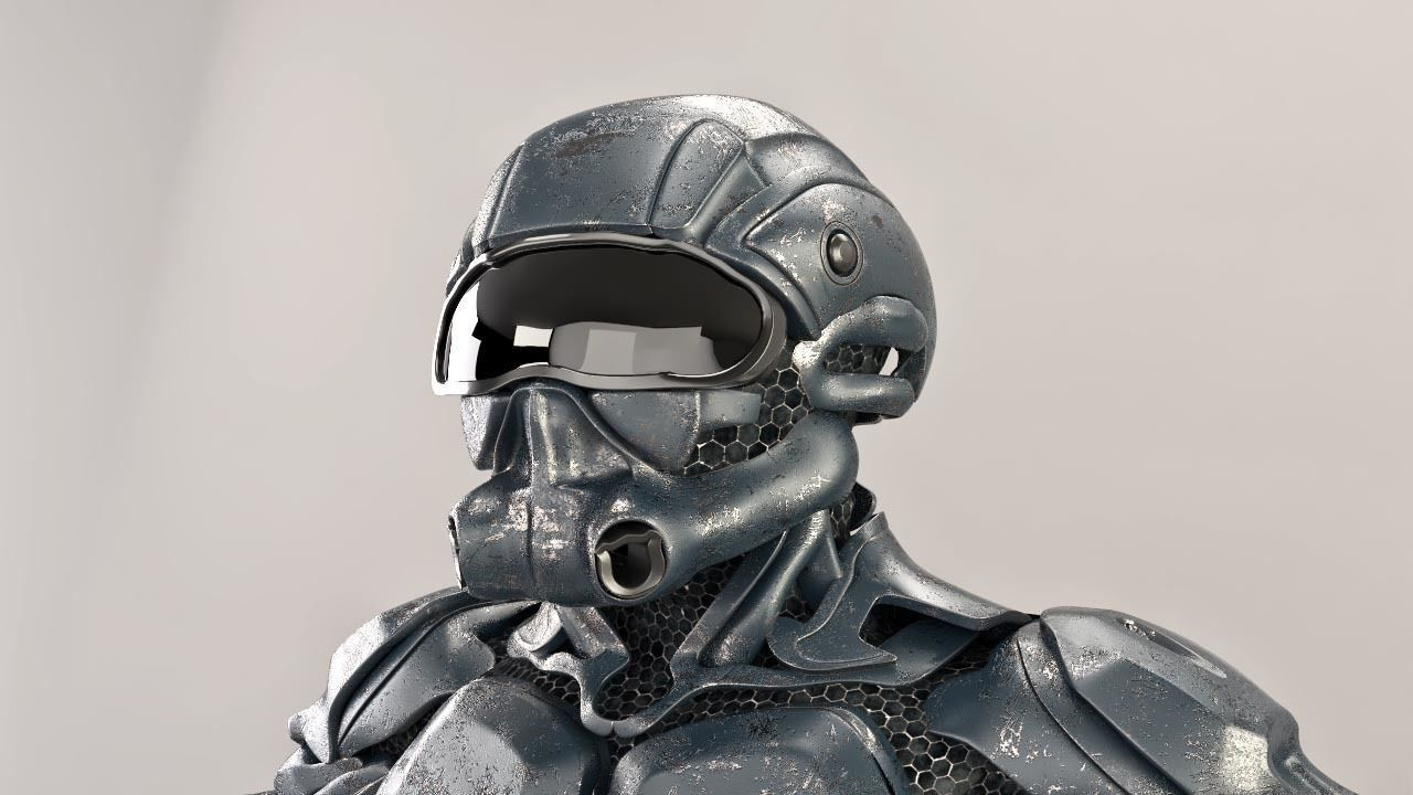 sci fi soldier
