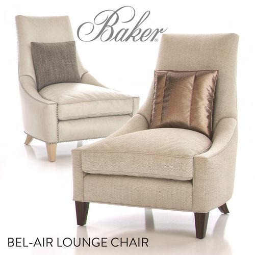 baker bel-air lounge chair 3d model max 1