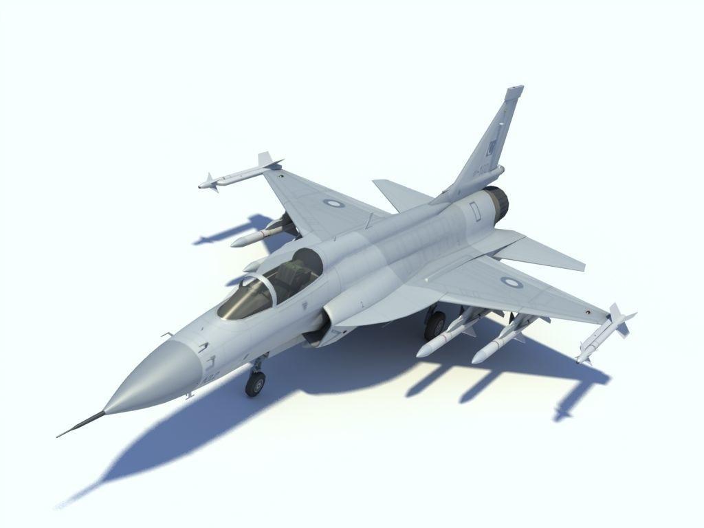 JF-17 Thunder Low polygon version