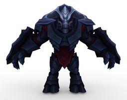 League of Legends  Skin Marauder Ashe Alistar and Warwick 3D Model